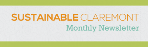 Sustainable Claremont Monthly Newsletter