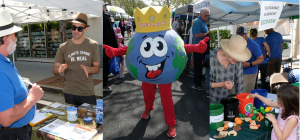 collage of Earth Day participants